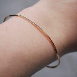 054404c79 Open Bar T Bangle Thin Bracelet – KTCollection