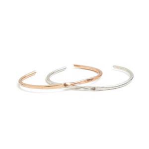 52be758ff 14K Thin Bangle Bracelet Square – KTCollection