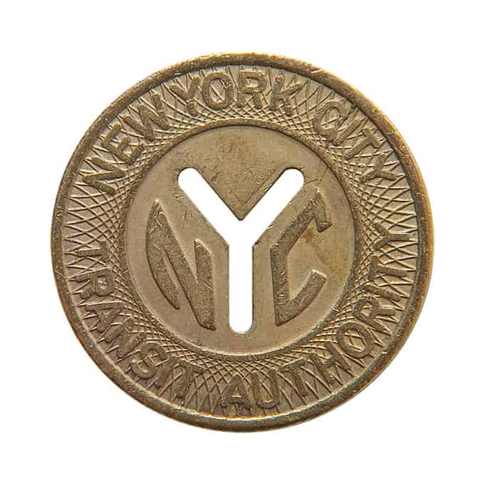 Vintage_NYC_Subway_Token_Gold_Long_Neckl