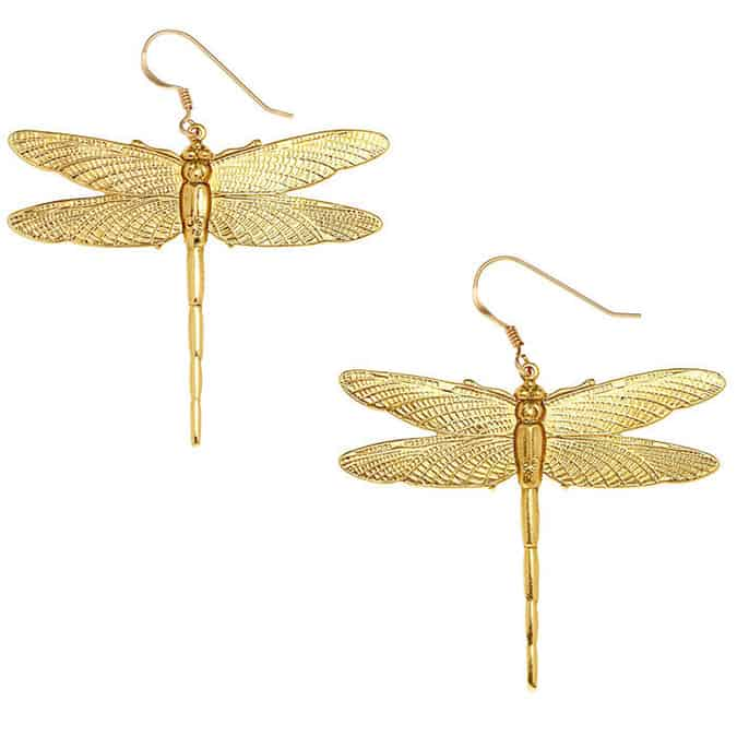 Dragonfly Large Earrings