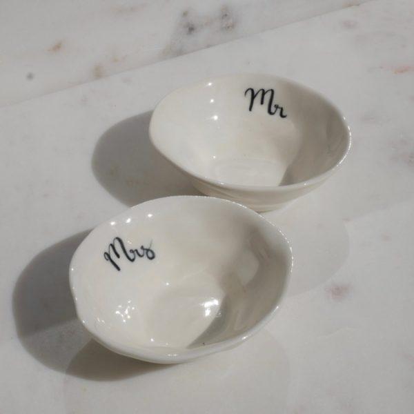 Mr & Mrs Ring Bowl