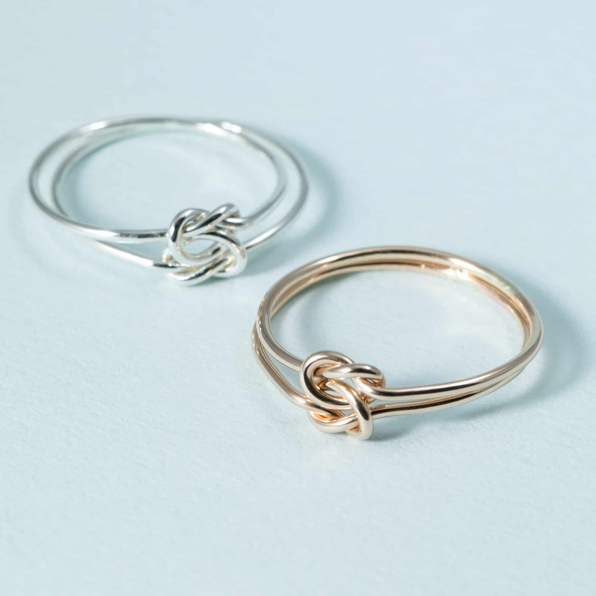 Double Love Knot Ring Ktcollection